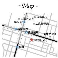 リトル広島地図